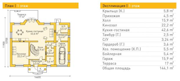 Берндорф — 1 этаж