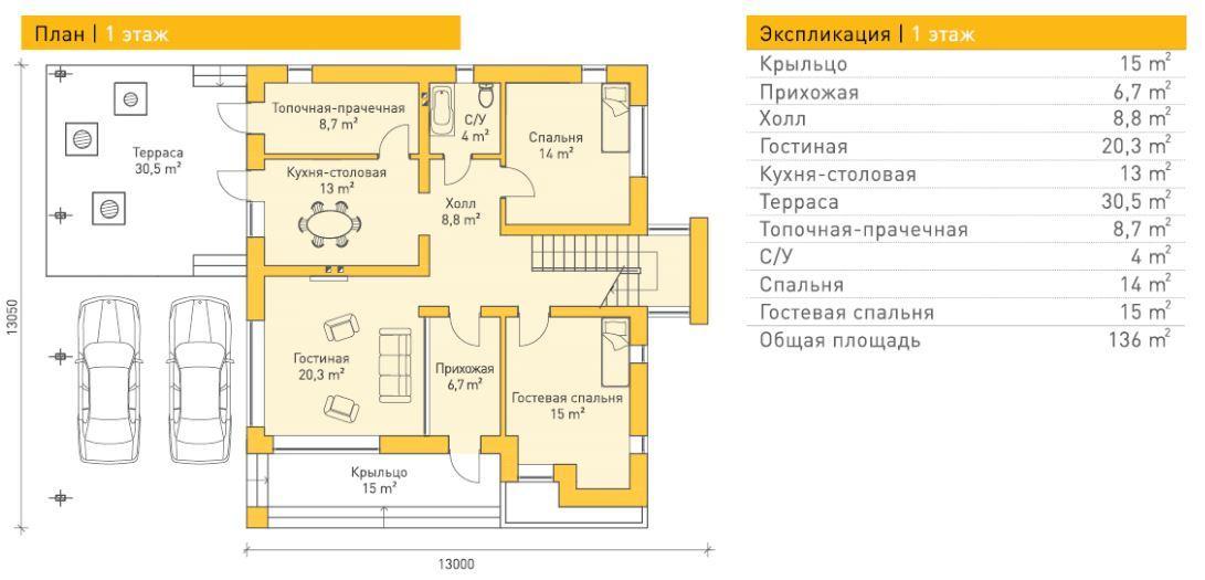 Райнсберг — 1 этаж