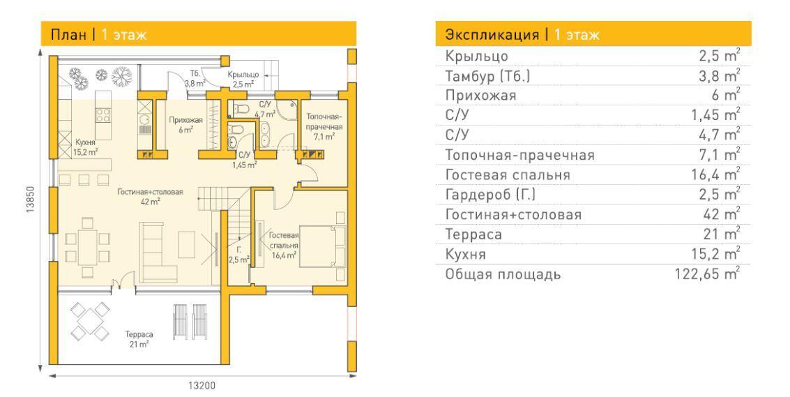 Штутгард — 1 этаж
